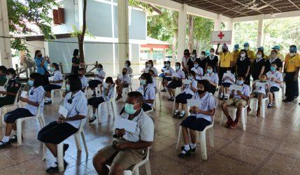 เข้ารับทุนการศึกษาตามโครงการมอบทุนการศึกษาเพื่อน้องผู้ยากไร้ ปีการศึกษา 2563